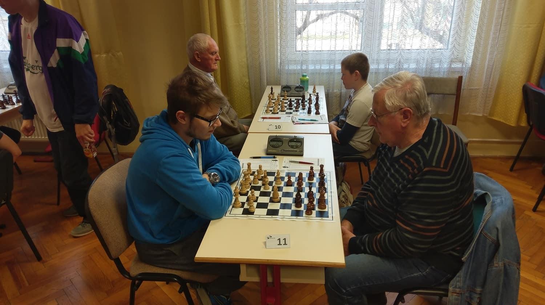 Maróczy Géza SE M22 sakk verseny
